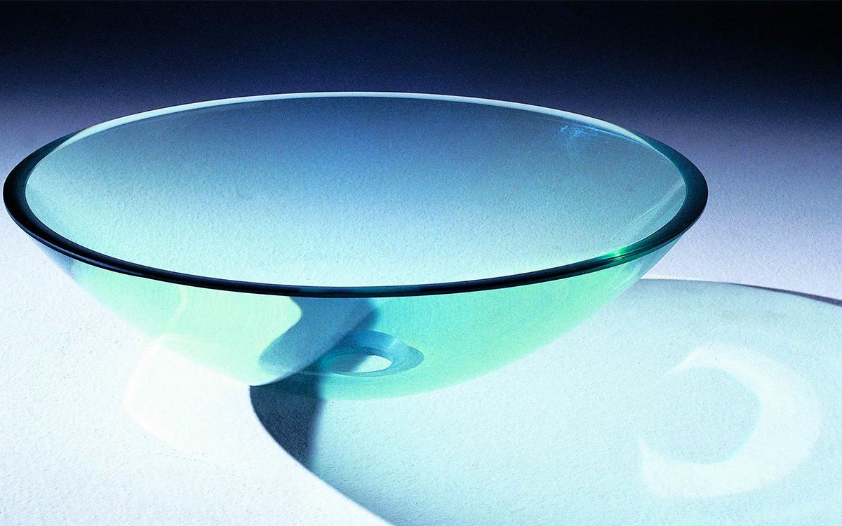 Lavabo bagno vetro scegliere il lavabo da incasso - Lavandini in vetro per bagno ...