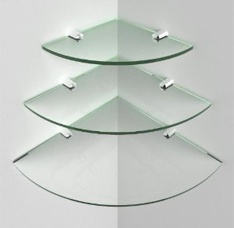 Nuova cristalvetri vetreria a barletta dal 1960 for Mensole angolari per bagno