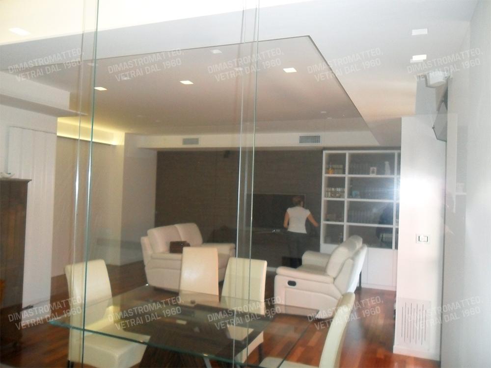 Pareti Di Vetro Scorrevoli : Nuova cristalvetri vetreria a barletta dal pareti vetrate