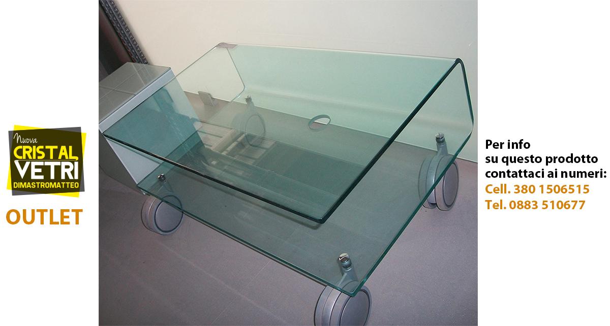 Tavolini In Vetro Porta Tv : Nuova cristalvetri vetreria a barletta dal 1960 outlet dei
