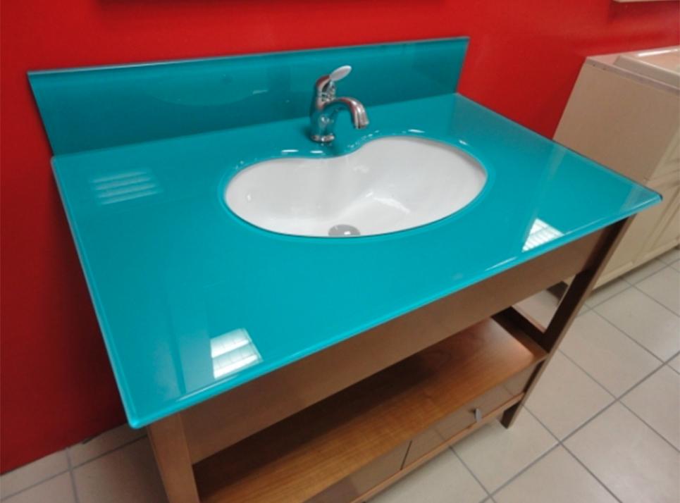 Nuova cristalvetri vetreria a barletta dal 1960 lavabi e top in vetro - Vetro per bagno ...