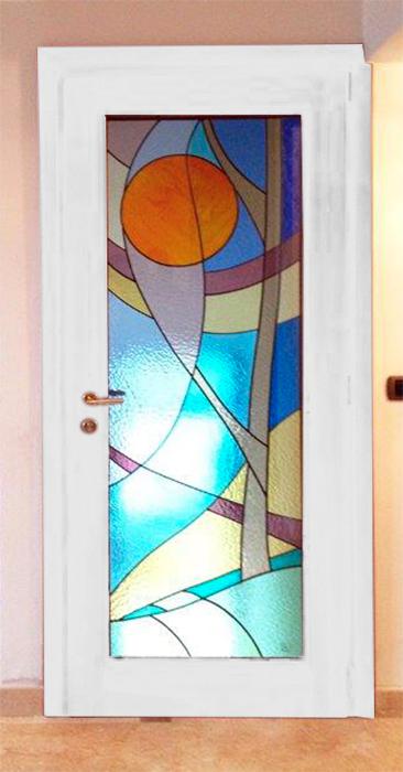Nuova cristalvetri vetreria a barletta dal 1960 vetrate artistiche - Case moderne con vetrate ...