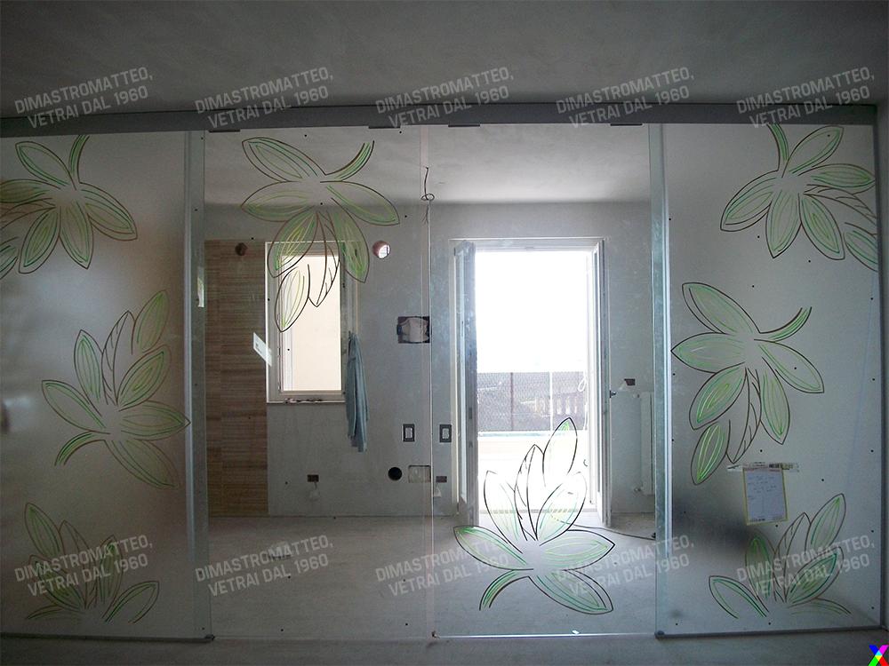 Pareti in vetro per interni for Pareti originali per interni