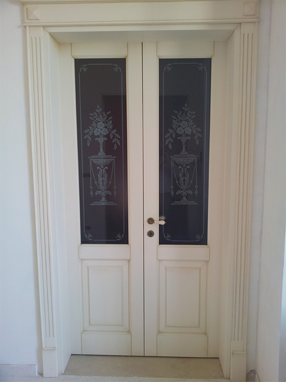 Nuova cristalvetri vetreria a barletta dal 1960 vetri for Vetri porte interne