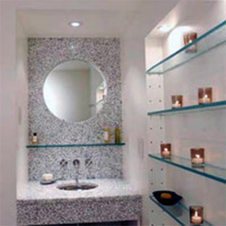 Mensole Cristallo Bagno.Mensole Bagno Cristallo Ispirazione Per La Casa