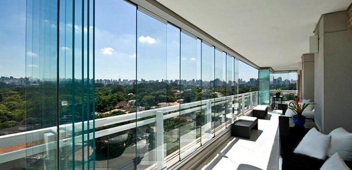 Coprire Terrazzo Con Veranda nuova cristalvetri - vetreria a barletta dal 1960 - vetrate